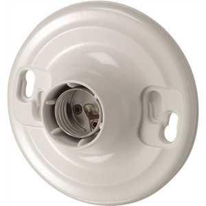Leviton R50-08829-CW4 Plastic Keyless Lamp Holder