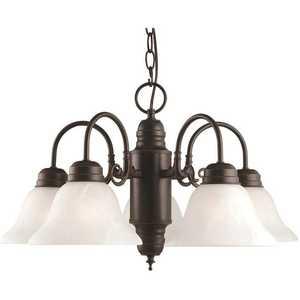 Design House 514455 Millbridge 5-Light Oil Rubbed Bronze Chandelier
