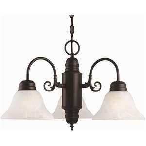Design House 514463 Millbridge 3-Light Oil Rubbed Bronze Chandelier