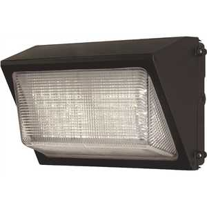 PROBRITE PWRW50-PC-4K-BZ High-Output 450-Watt Equivalent Integrated Outdoor LED Wall Pack, 6800 Lumens, Dusk to Dawn Outdoor Security Light