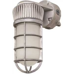 PROBRITE VPR14-4K-WM-GR Vapor-Tight 150-Watt Equivalent Integrated Outdoor LED Area and Flood Light, 1900 Lumens, Outdoor Security Lighting