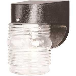 LiteCo FP101-LE700C-BG Black Fitter Neck LED Outdoor Pocket Jelly Jar Lantern with Integrated