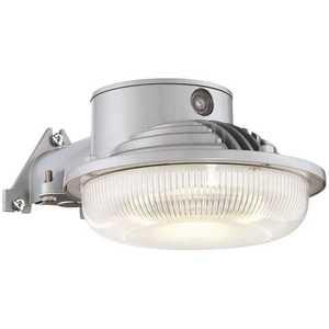EnviroLite AS1AD40-27 31-Watt Gray Dusk to Dawn Single-Head Outdoor Integrated LED Flood Light