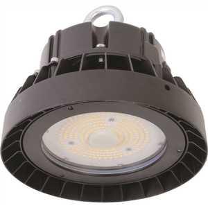 Simply Conserve L130HBU50D UFO High Bay 8.3125 ft. 400-Watt Equivalent Integrated LED Black High Bay Light, 5000K