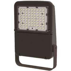 Halco FLFS70/3CCTU/YK 10346 70-Watt 120-Volt to 277-Volt Yoke Line Voltage Bronze Outdoor Integrated LED Medium Landscape Flood Light, Selectable