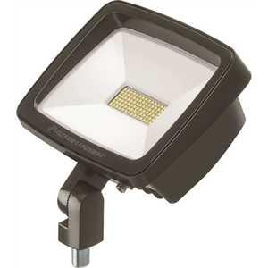Lithonia Lighting TFX3 LED 40K MVOLT YK DDBXD Contractor Select TFX3 188-Watt Bronze Yoke Mount Outdoor Integrated LED Flood Light 4000K