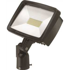 Lithonia Lighting TFX2 LED 40K MVOLT IS DDBXD Contractor Select TFX2 94-Watt Dark Bronze Slipfitter Mount Outdoor Integrated LED Flood Light