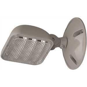 ETi 55503101 1-Light 45-Watt Equivalent Integrated LED Gray Emergency Light 6500K Daylight 1.2-Watt