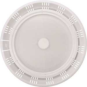 18 in. 750-Watt Equivalent Round Integrated LED Dimmable White High Bay Light 38,000 Lumens 5000K Wet Rated