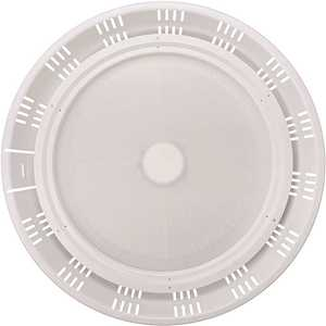 18 in. 400-Watt Equivalent Round Wet Rated Integrated LED Dimmable White High Bay Light 24,000 Lumens 5000K