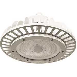 ETi 63802161 ECO 10 inch Round 250-Watt Equivalent Integrated LED White High Bay Light 17,651 Lumens 5000K Wet Rated DLC Premium