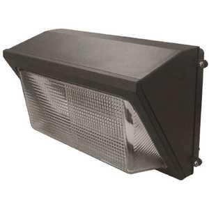 Halco Lighting Technologies WPS-28-4K-U 10390 100-Watt Equivalent Integrated LED Bronze Outdoor Wall Pack Light 3514 Lumens Cool White 4000K
