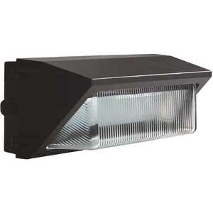 Halco Lighting Technologies WPS-120-5K-U 10397 400-Watt Equivalent Integrated LED Bronze Outdoor Wall Pack Light 14,465 Lumens Daylight 5000K