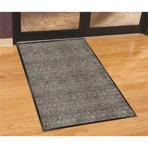 Silver Series Salt Pepper 36 in. Width x 60 in. Length Polypropylene Indoor Walk-Off Commercial Floor Mat