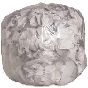 Genuine Joe GJO01013 33 Gal. Clear Trash Can Liners