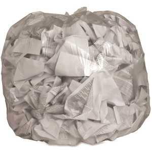 Genuine Joe GJO01015 45 Gal. Clear Trash Can Liners