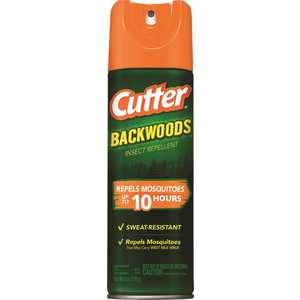 CUTTER Hg-96280-2 6 oz. Backwoods Aerosol Mosquito and Insect Repellent Spray