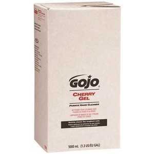 GOJO 7590-02 PUMICE HAND CLEANER CHERRY GEL 5000ML TDX REFILL