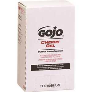 GOJO 7290-04 HAND CLEANER PUMICE CHERRY GEL PRO 2000 REFILL 2000ML