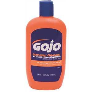 GOJO 0957-12 14 oz. Pumice Hand Soap