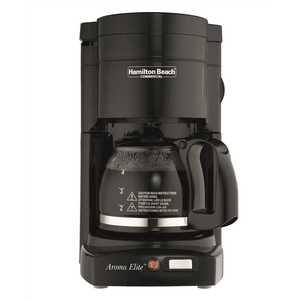 HAMILTON BEACH HDC500C 4-CUP COFFEE MAKER WITH GLASS CARAFE, BLACK
