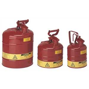 TYPE 1 RED STEEL SAFETY CAN FOR FLAMMABLES 5 GALLON