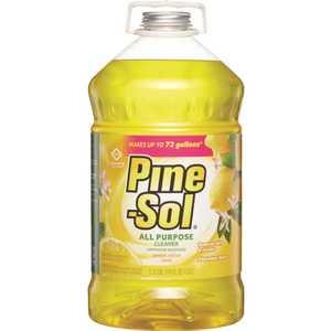 Pine-Sol 4129435419 144 fl. oz. Lemon All-Purpose Cleaner