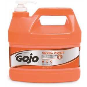 GOJO 0955-04 3.79 l Natural Orange Pumice Heavy-Duty Hand Cleaner