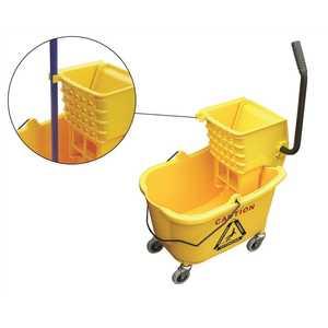 O-Cedar 96975 Maxirough Mop Bucket And Wringer