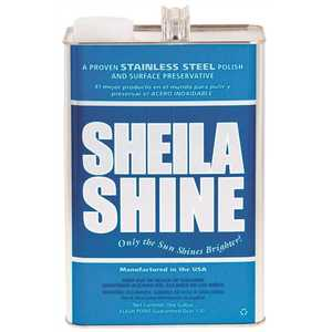 SHEILA SHINE 440128/73440003 128 oz. Oil Based Stainless Steel Polish