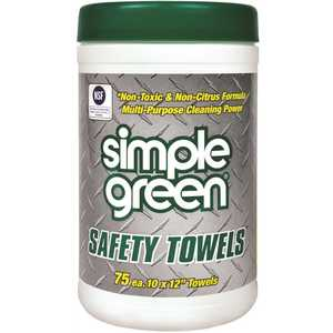SIMPLE GREEN 3810000613351 SAFETY TOWELS CANISTER
