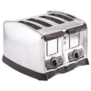 HAMILTON BEACH 24850 4-Slice Stainless Steel Extra-Wide Slot Toaster