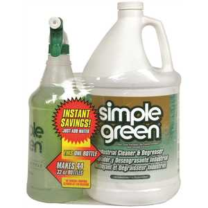 SIMPLE GREEN 2710200413041 CONCENTRATE, GALLON WITH 32 OZ. RTU SIMPLE GREEN TRIGGER