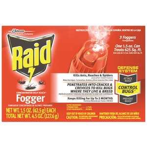 RAID 305690 1.5 oz. Concentrated Deep Reach Fogger