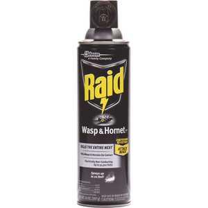 RAID 668006 14 oz. Wasp and Hornet Killer