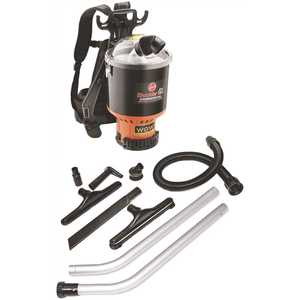 HOOVER C2401 Commercial Shoulder Vac Pro Backpack Vacuum Cleaner with 1-1/2 in. Attachment Kit