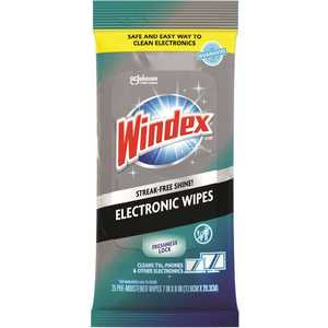 WINDEX 319248 Electronics Pre-Moistened Wipes