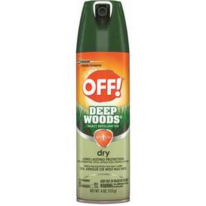 S.C. JOHNSON CONSUMER CB717649 4 oz. Deep Woods Dry Insect Repellent