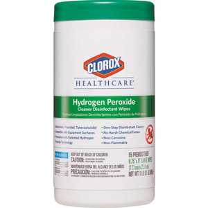 CLOROX 4460030824 Hydrogen Peroxide Cleaner Disinfectant Wipes