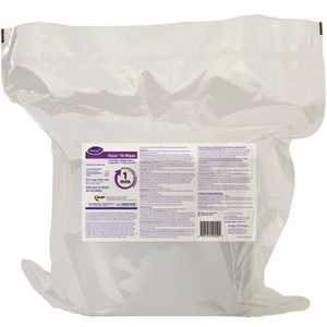 OXIVIR 100823906 11 in. x 12 in. TB Disinfectant Wipes, Refill Only