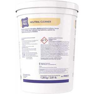Neutral Cleaner, 0.5 oz., 90 per tub