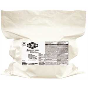 CLOROX 31428 700-Wipes Fresh Scent Disinfecting Wipes Refill (2-Pouches per Case)