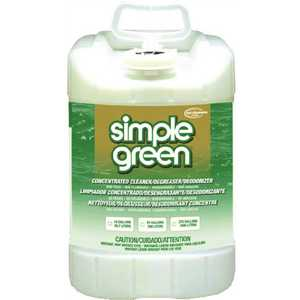 SIMPLE GREEN SMP13006 5 Gal. Industrial Concentrated Cleaner and Degreaser Pail