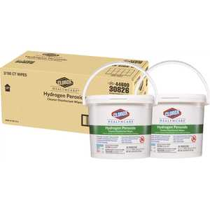 CLOROX 4460030826 Healthcare Hydrogen Peroxide Cleaner Disinfectant Wipes
