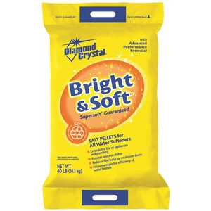 DIAMOND CRYSTAL 100012420 Bright and Soft Water Softener Salt Pellets