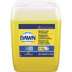 Dawn 003700057444 Proffesonial 4 Gal. Lemon Scent Pot and Pan Dish Soap