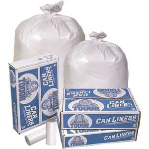 IBS Solutions VMT491XW 56 Gal. White Can Liners
