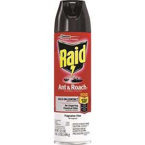RAID 697318 17.5 oz. Fragrance Free Ant and Roach Killer