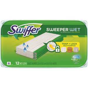 SWIFFER 003700095531 Sweeper Wet Mop Pad Refills with Open Window Fresh Scent