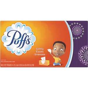 PUFFS 003700087611 2-Ply Facial Tissue (180-Sheets per Box)